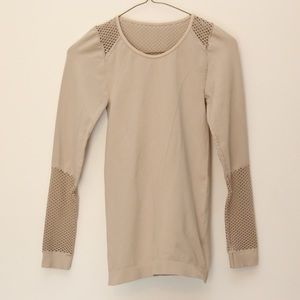 Alana long sleeve mesh leisurewear